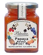 Confiture Extra Palmelita - Papaye - Orange - Diet 335 g